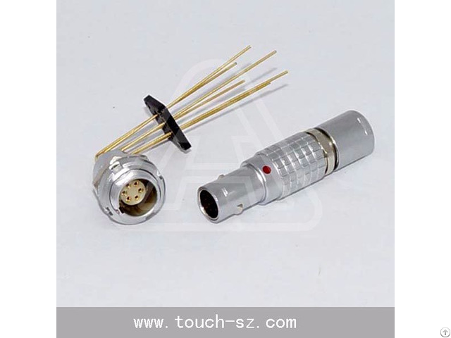 Touch 6pin Straight Plug Fgg 0b 306 Connector For Disposable Devices Sensors