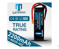 Upower Rechargeable 11 1v 2200mah Lipo Battery For Rc Models