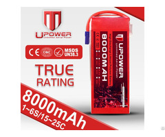 Upower Lipo Battery Pack 14 8v 8000mah For Uav Drone Multirotor