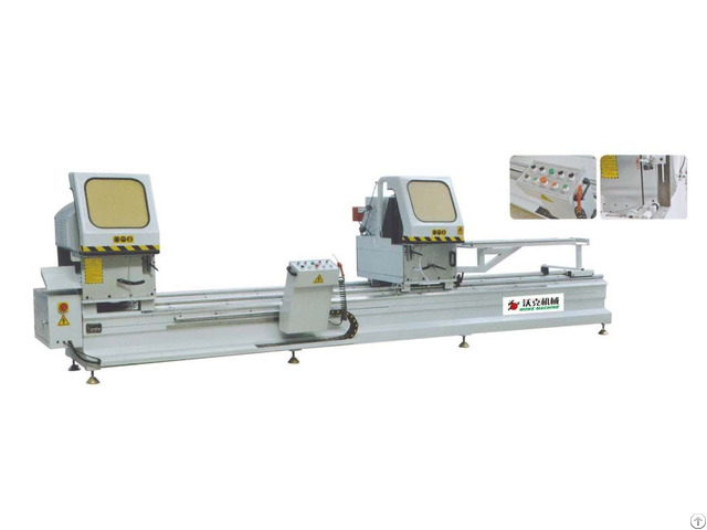 Window Door Two Head Cutting Machine