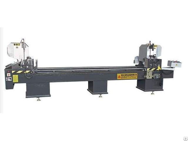 Cnc Double Head Cutting Saw For Pvc Door And Window