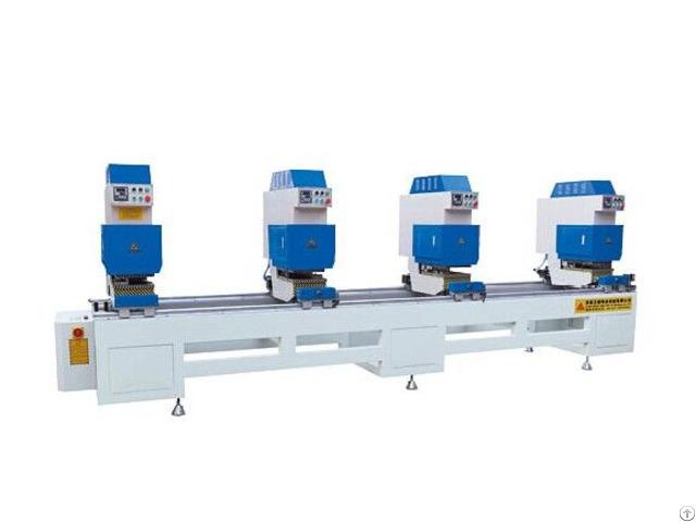 Four Seamless Welding Machine For Aluminum Pvc Window And Door Machines