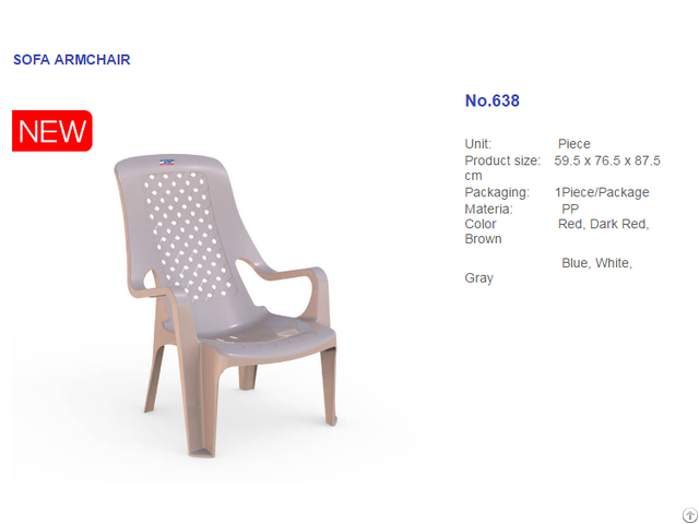 High Quality Modern Design Colorful Plastic Chair