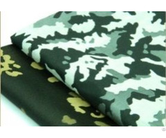 Camouflage And Check Jacquard