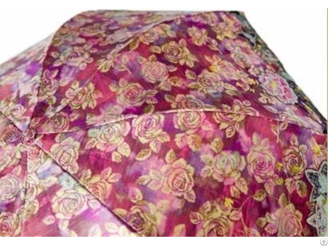 Warp Printed Jacquard For Umbrella