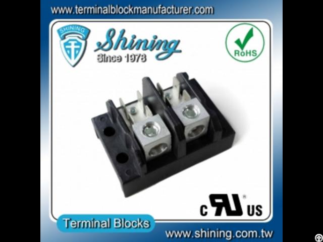 Tgp 050 02a 600v 50a 2 Pole Power Terminal Block