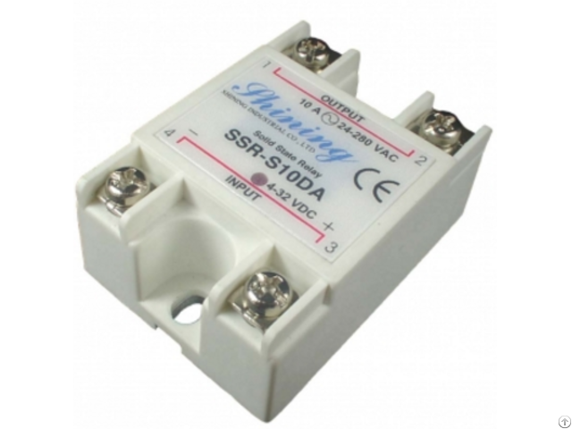 Ssr S10da 10a Single Phase Solid State Relay