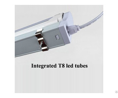 Integrated T8 Tube With No Brackets High Heat Dissipation