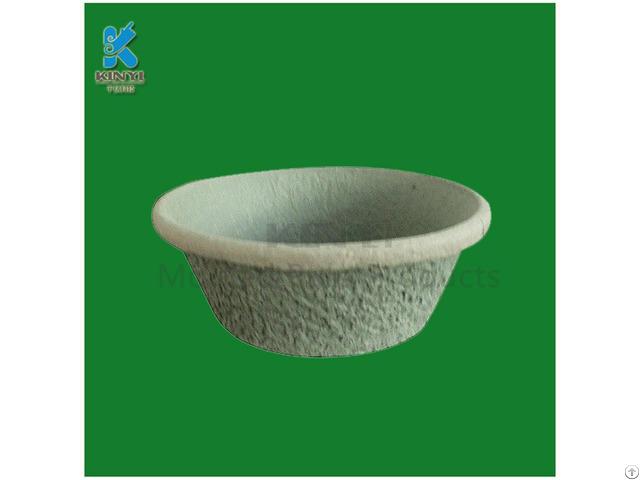 Wholesale Biodegradable Plant Fiber Molded Nursery Pots