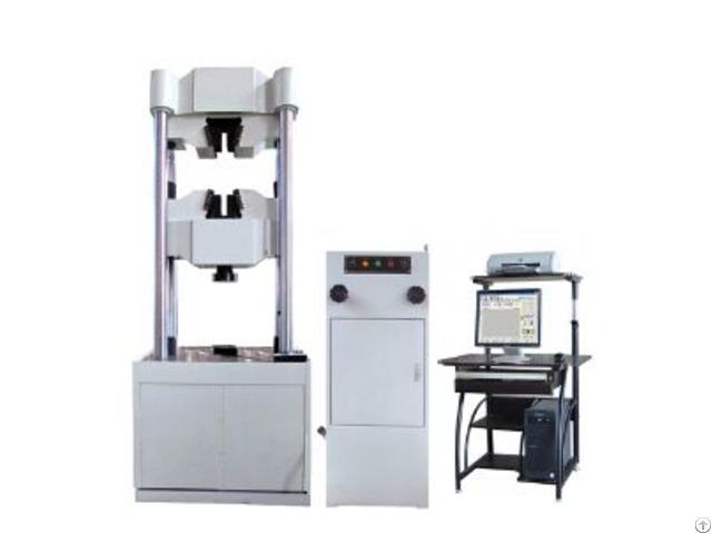 Waw Series Electro Hydraulic Universal Testing Machine