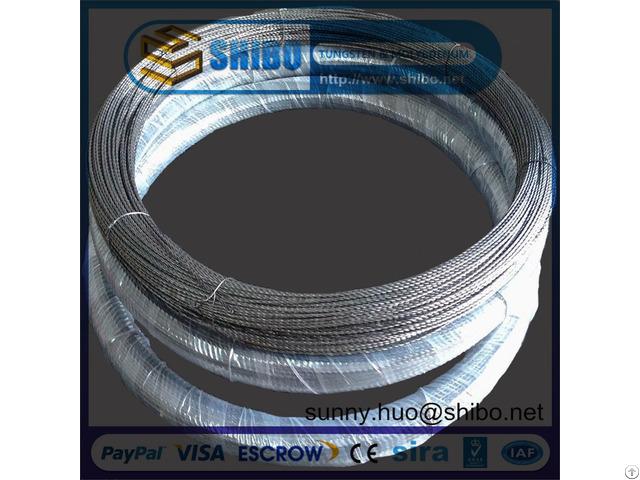 Best Quality Tungsten Filament Screw W Twisted Wire