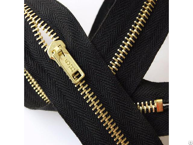 Nomex® Iiia Brass Teeth Zippers