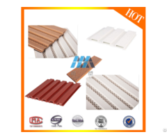 New Design Good Quality Beautiful Wpc Plastic Wall Panel