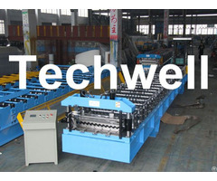 Color Steel Standing Seam Roll Forming Machine Exported To Ghana Tw 33 300
