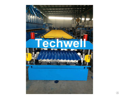 Double Layer Sheet Roll Machine With 18 Forming Stations For Roof Wall Panels