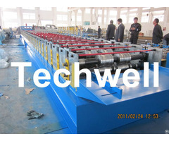 Working Speed 10 12m Min Decking Sheet Roll Forming Machine