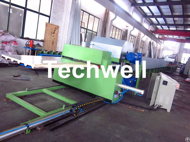 Simple Continuous Pu Sandwich Panel Making Machine