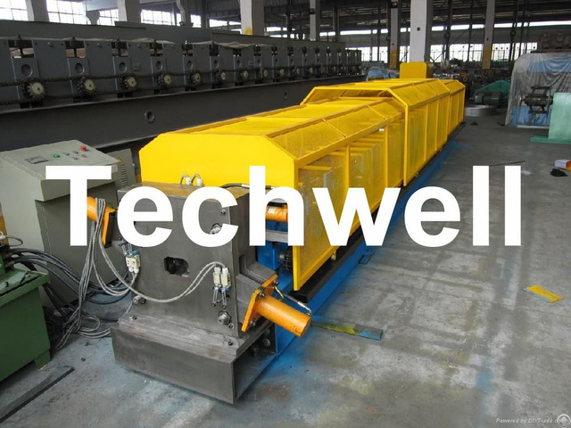 Steel Aluminum Copper Mobile Seamless Rainwater Gutter Roll Forming Machine