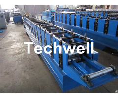 Automatic Roller Shutter Door Roll Forming Machine With Plc Computer Control System Te Rsd85