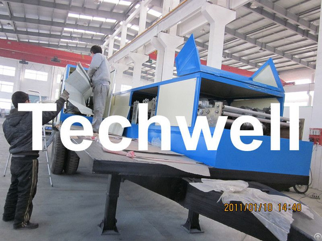 K Span Arch Roof Roll Forming Machine For 0 8 1 5mm Thickness