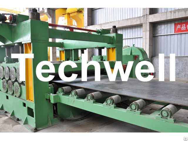Steel Cutting Horizontal Metal Making Machine To Cut Coil Into Required Length