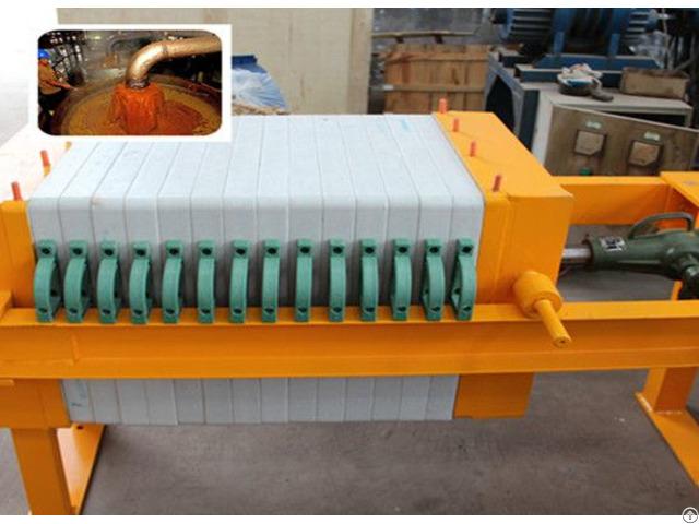Palm Oil Filter Machine