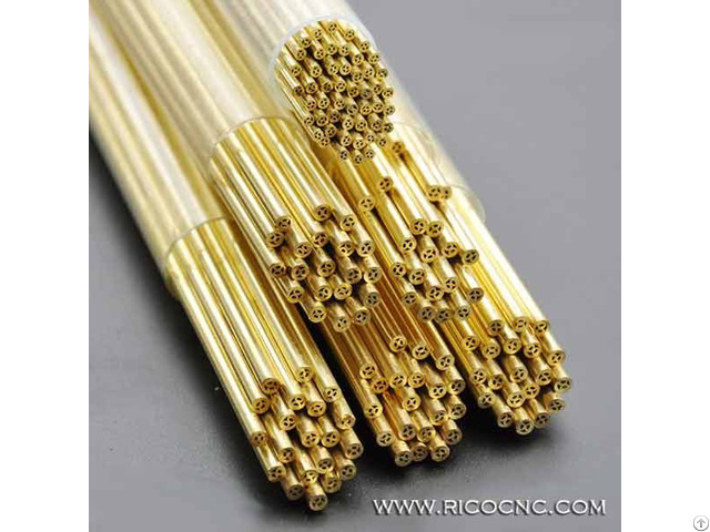 Edm Brass Pipe Multi Hole Electrode Tubes
