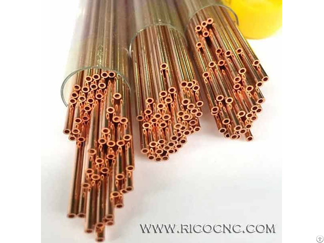 Single Hole Edm Copper Tube Electrode Drill Bit