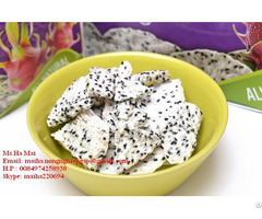 Freeze Dried Dragon Fruit Chips From Vietnam Dry Pitaya Sugar Free