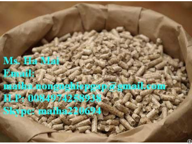 Wood Pellets From Vietnam 6mm For Biomass