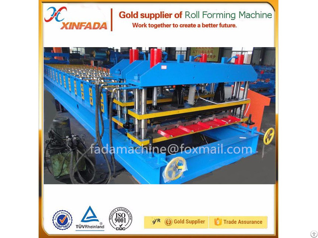 Trapezoidal Glazed Tile Roll Forming Machine