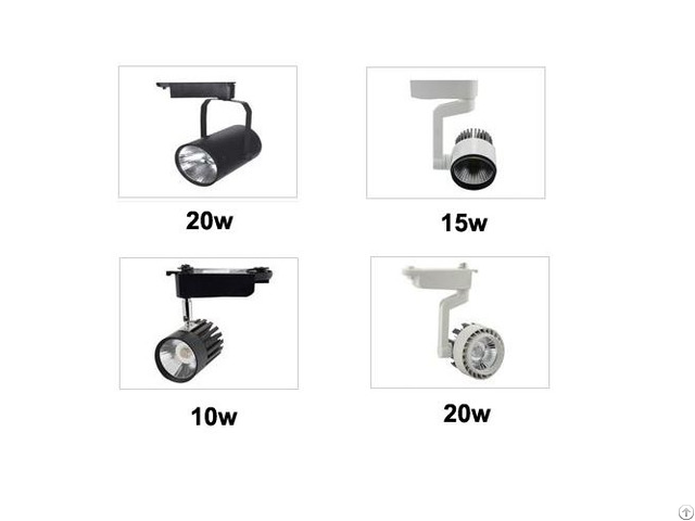 New Products Cob Led Track Light With 3years Warranty Ce Rohs Certificate