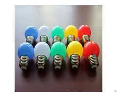 Decorate Led Color Bulb With Ce Rohs Certificate 2 Years Warranty For Celeberate