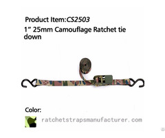 Wdcs010103 1 25mm Camouflage Ratchet Tie Down