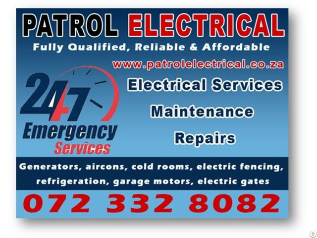 24\7 Emergency Electricians Pretoria East 0723328082