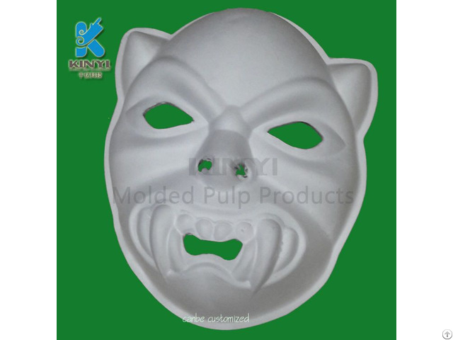 Wholesale New Style Environmentally Friendly Bagasse Pulp Paper Masks