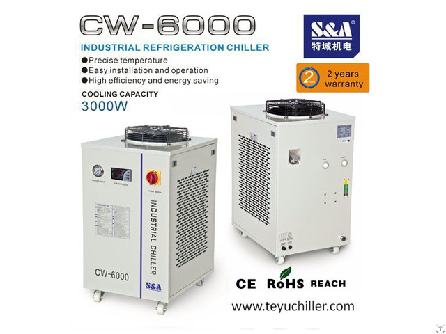 S And A Air Cooled Water Chiller Of 3kw Cooling Capacity