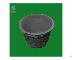 Environmental Flower Pots Planters Recycled Paper Pulp Made