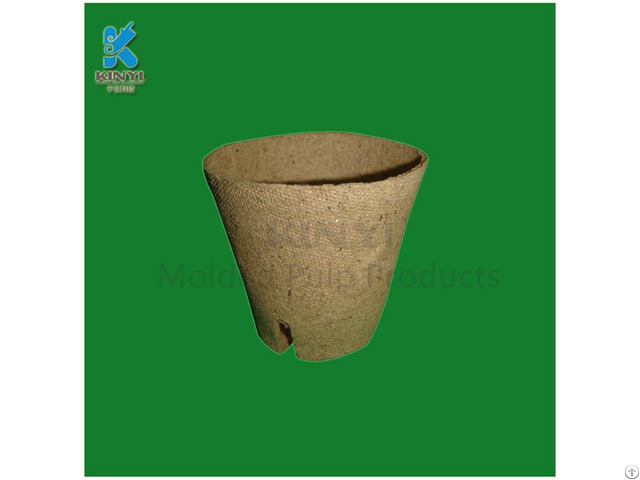 Eco Friendly Garden Planters Flower Pots Recycled Paper Pulp Made