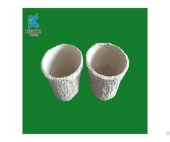 Biodegradable Paper Pulp Mold Flower Pots Planters