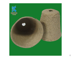 Disposable Environmental Garden Planters Composable Pots