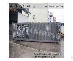 Asia Fresh Leafy Vacuum Cooler 1 Pallet 24pallets