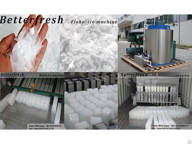Block Flake Tube Ice Machine