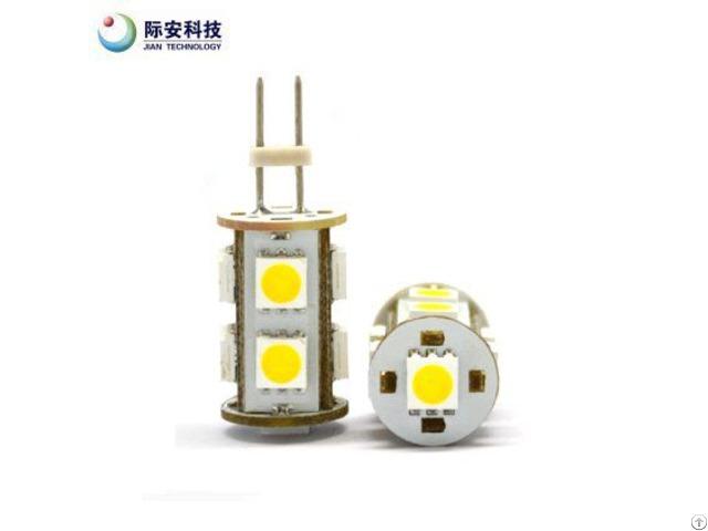 9pcs 10 30v G4 Warm White Led Auto Light