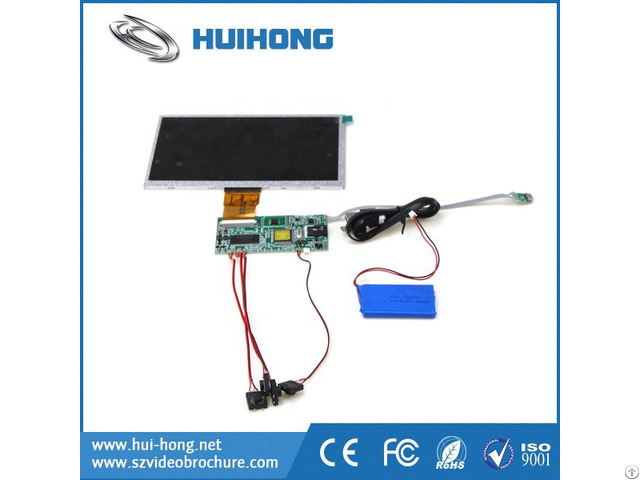 Factory Price Resolution 800x480 7 Inch Tft Lcd Module For Many Device