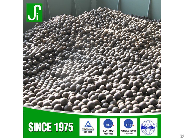 China Forged Grinding Steel Ball