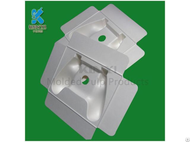 Wholesale Export Grade Bagasse Pulp Handle Packaging Paper Tray
