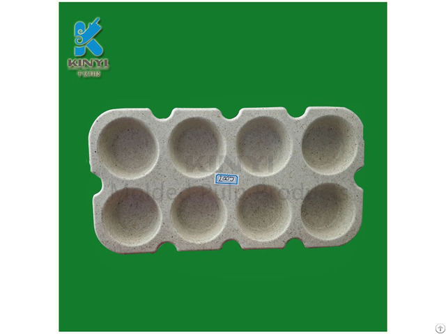 Natural Degradable Sugar Cane Bagasse Pulp Cake Paper Mold Tray