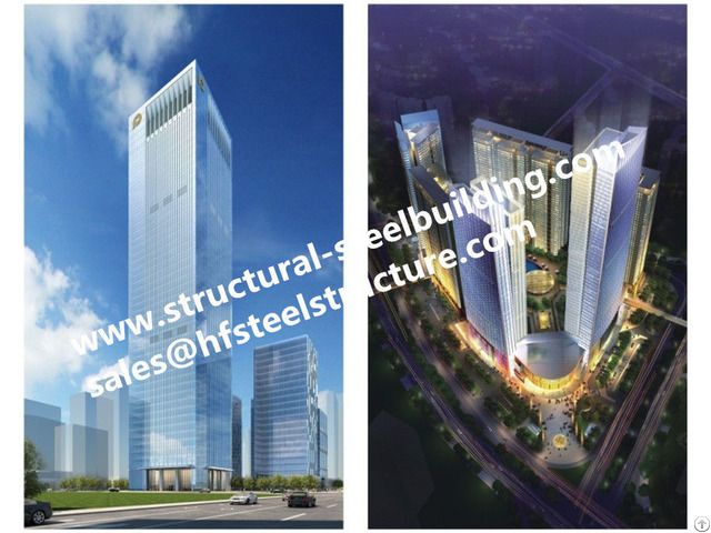Pre Engineered Multi Storey Steel Buildings And Prefabricated High Rise Structure China Builder