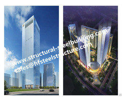 Prefabricated Multi Storey Steel Buildings And Pre Engineered High Rise Structure China Builder
